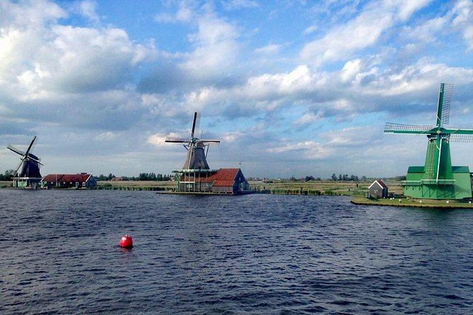 Recorrido privado: Recorrido de un día por los canales de Ámsterdam y el puerto hasta el río Zaan y Zaanse Schans