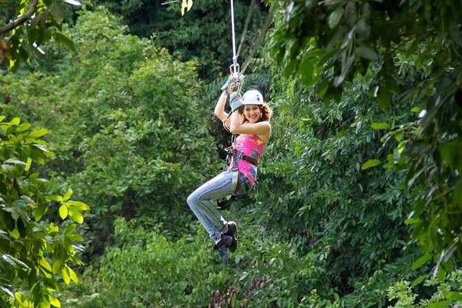 Canopy Zipline & Dunn's River Falls Adventure Tour from Runaway Bay