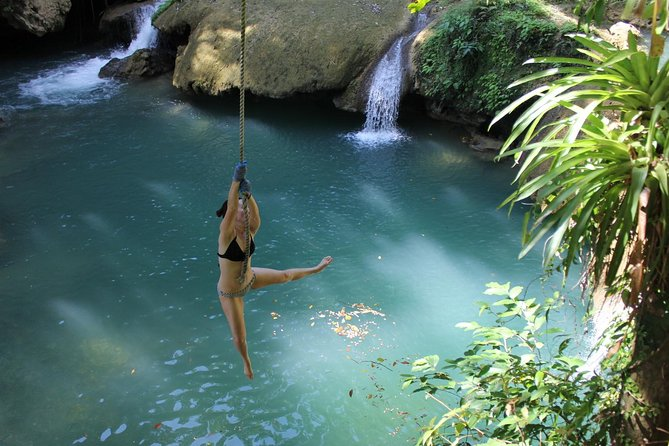 YS Falls and The Pelican Bar Adventure Tour from Negril