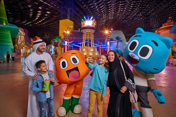 IMG World of Adventure with Sharing Transfers from Abu Dhabi
