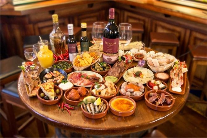 Wine and Tapas Guided Tour in Madrid