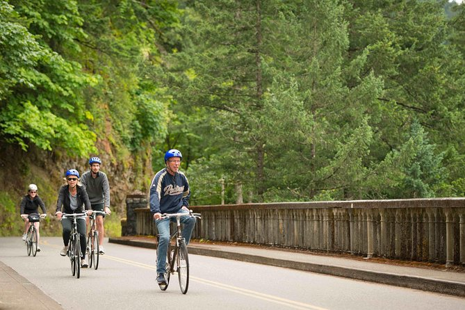 Bike and Hike: Columbia River Gorge Adventure from Portland