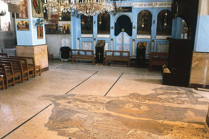 Private Half Day Tour to Madaba and Mount Nebo from Amman