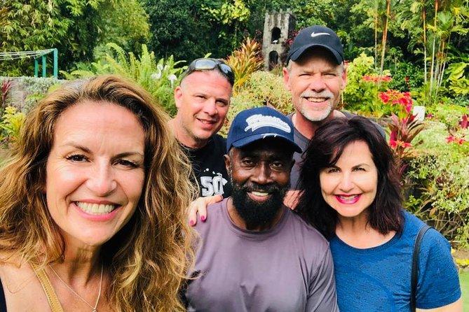 Visite guidée spéciale de St Kitts à Rosevelt