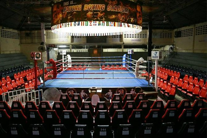 Patong Boxing Stadium Admission Ticket