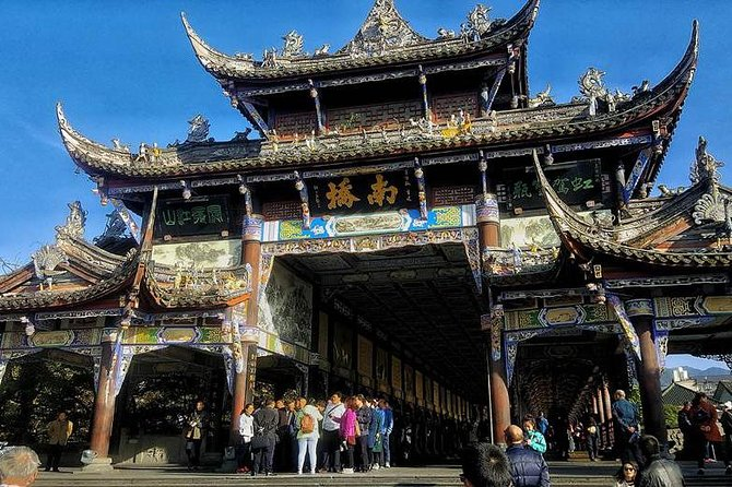 Mt Qingcheng and Dujiangyan Irrigation 1 Day Tour