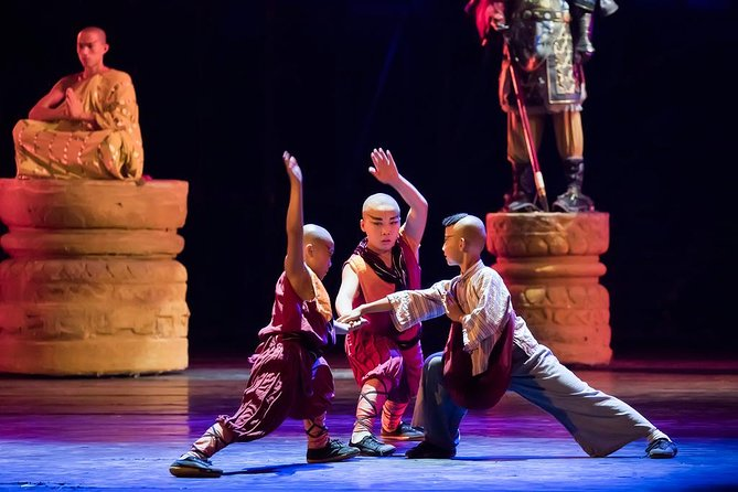 VIP Seated Kungfu Show With Dinner Option