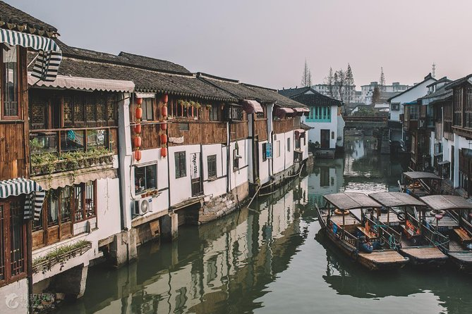 Zhujiajiao Water Town and Shanghai Night Cruise Group Tour with Dinner photo 7