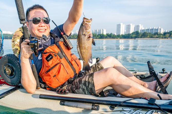 Kayak Fishing in Singapore, The Playground Tour photo 6