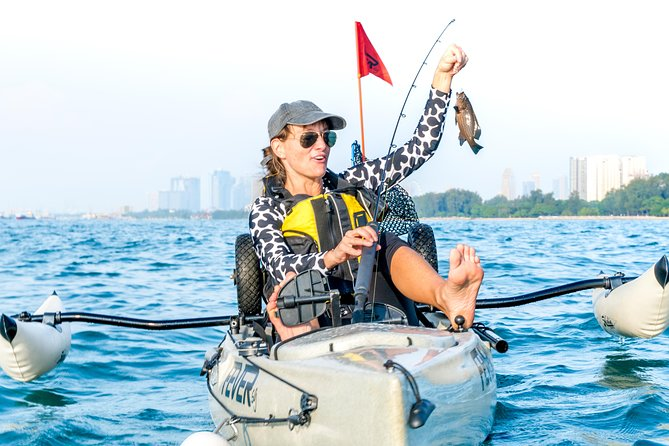 Kayak Fishing in Singapore, The Playground Tour photo 1