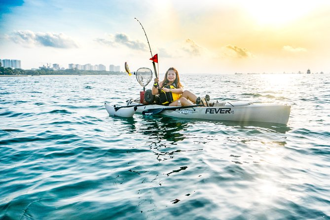 Kayak Fishing in Singapore, The Playground Tour photo 10