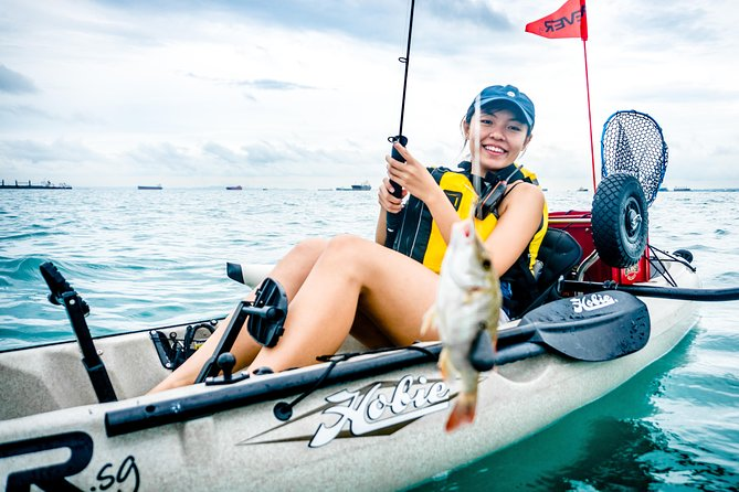 Kayak Fishing in Singapore, The Playground Tour photo 4