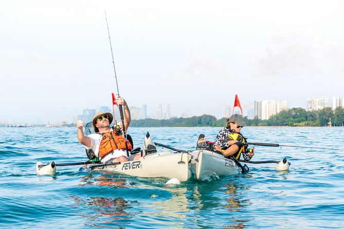 Kayak Fishing in Singapore, The Playground Tour photo 2