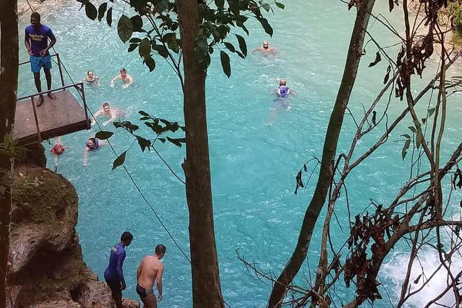 Nine Mile, Blue Hole from Negril