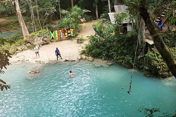 Nine Mile, Blue Hole, Dunn's River from Runaway Bay