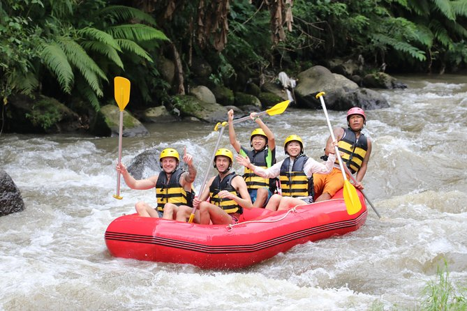 All Inclusive Bali ATV Quad Bike & White Water Rafting Experiences