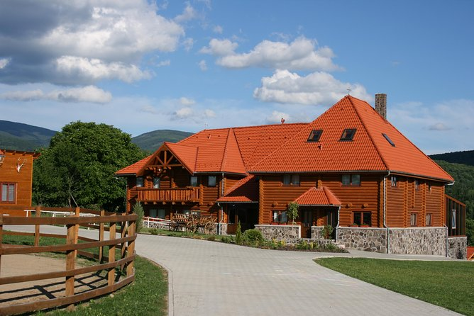 Boutique hunting lodge at the foothills of the Harghita Mountains