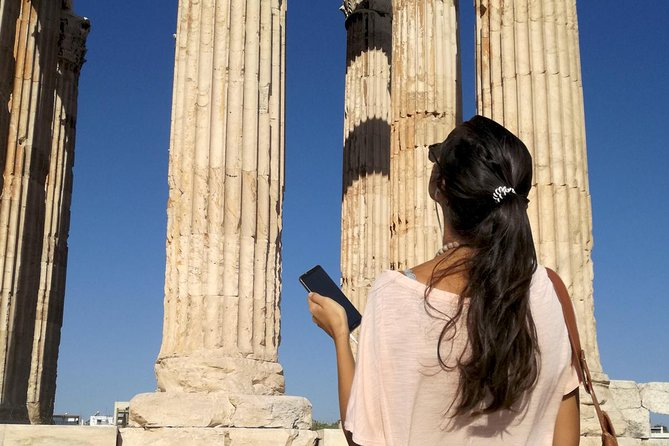Temple of Olympian Zeus: Self-Guided Audio Tour on your Phone (without ticket)