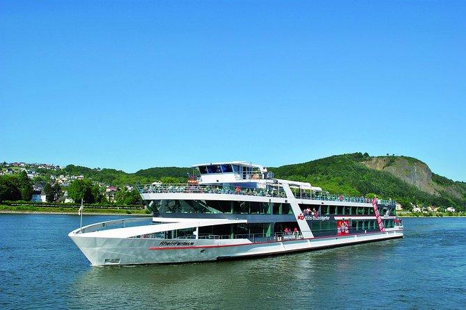 Cruzeiro pelo Rio Reno: de Colônia a Königswinter com excursão turística