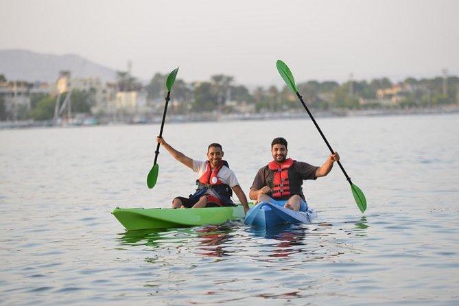 Luxor Kayak riding on the Nile