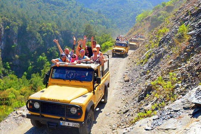 Alanya Jeep Safari At Taurus Mountains & Dimçay River