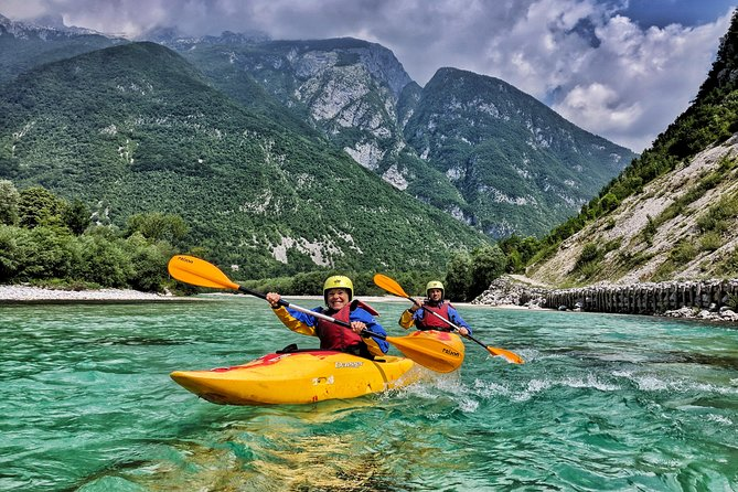 Top Kayak School on the Soca River