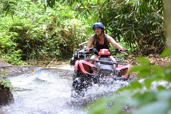 ATV QUAD Bike Ride at Taro Bali Adventure with complimentary Lunch