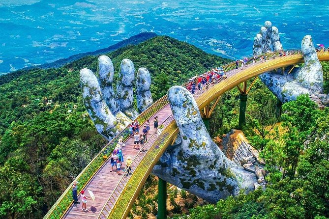 Private Golden Bridge & Ba Na Hills Full Day Trip From Hoi An City photo 1