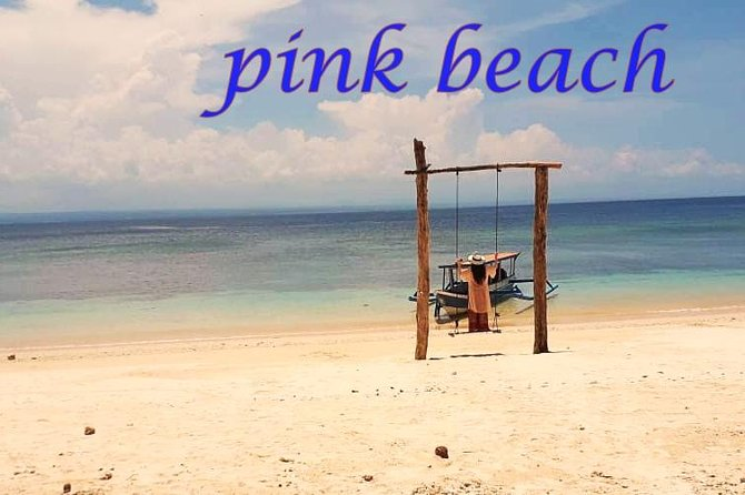 amazing pink beach tour