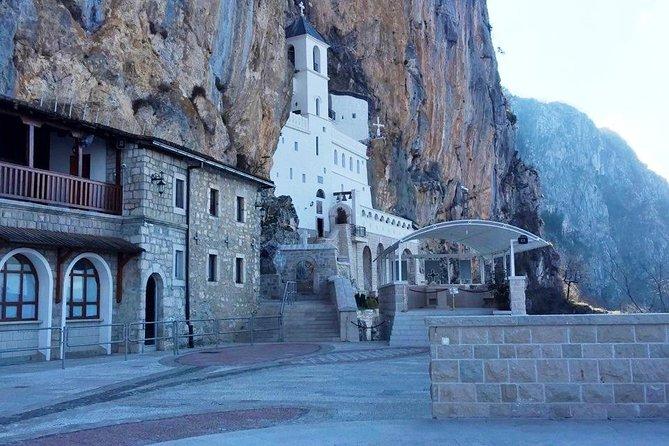 Monastery Ostrog - Spiritual Center of Balkans and Beautiful Countryside