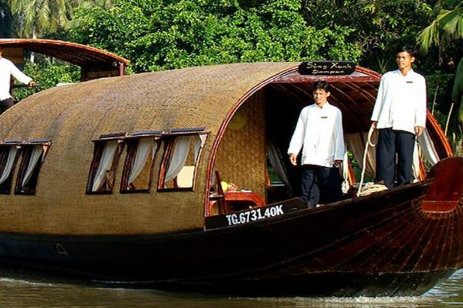 Song Xanh Sampan Mekong Cruise 2 Days 1 Night