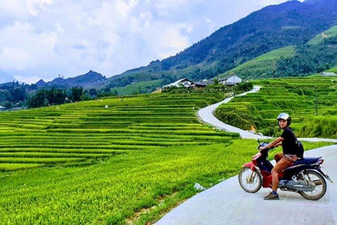 Motorcycle tour around Sapa- Exploring ethnic minorities