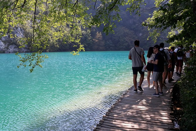 Private Trip to Plitvice Lakes from Zagreb with ticket included