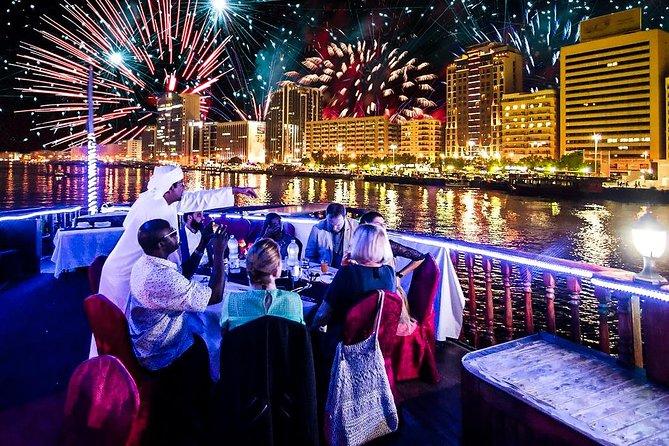 New Year's Party 2021 Dubai Creek Dhow Cruise-- See the Burj Khalifa Fireworks