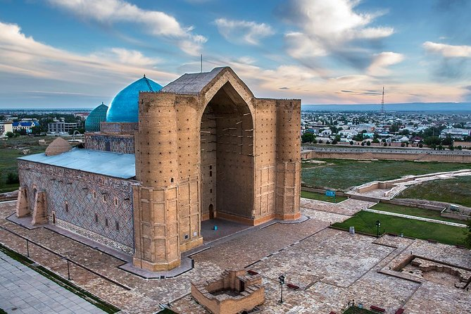 Otrar And Turkestan - historical sites of Central Asia