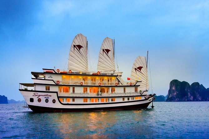 Halong Bay Cruise 2 Days - 1 Night with 5 Star Luxury