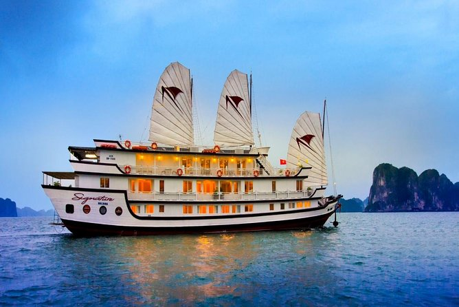 Halong Bay 2 Days - 1 Night with 5 Star Cruise included transfer & pick up