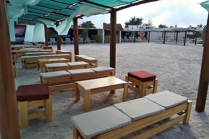 the best beach club in Progreso!