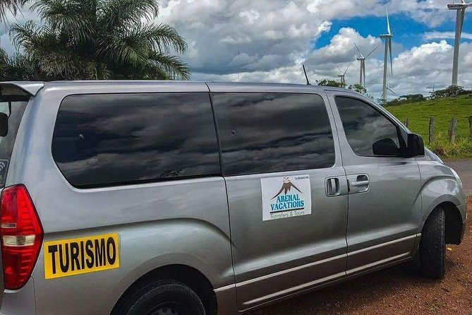 Ground Transportation from La Fortuna- Arenal To San José Airport