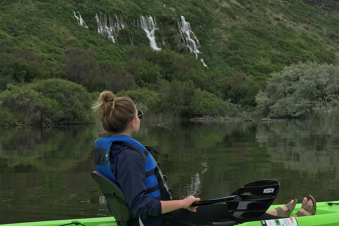 Kayak, Single Seat Whole DAY (8 hrs) - Snake River - Blue Heart Springs
