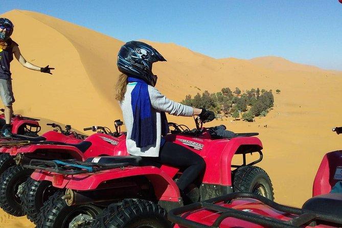 砂漠の中心