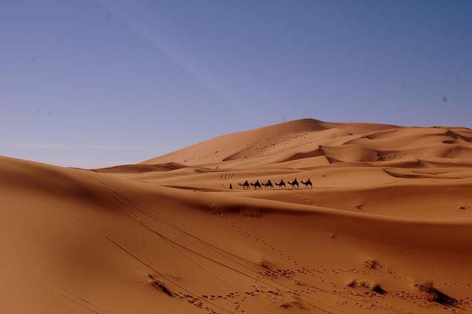 Circuit 8 jours dans le désert de Tanger à Marrakech