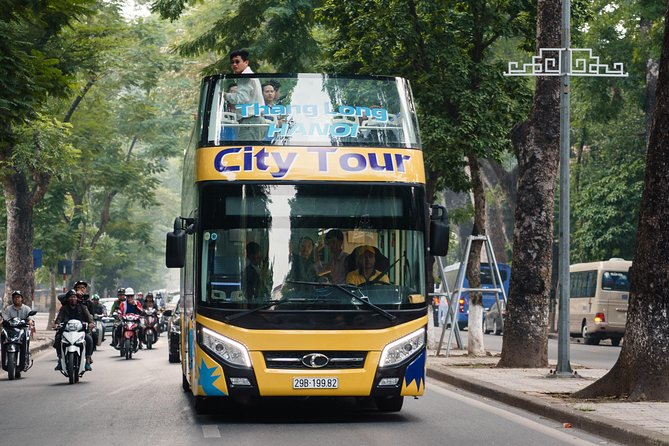 Hanoi Hop-On Hop-Off Bus: 24-Hour Sightseeing Tour Pass photo 3