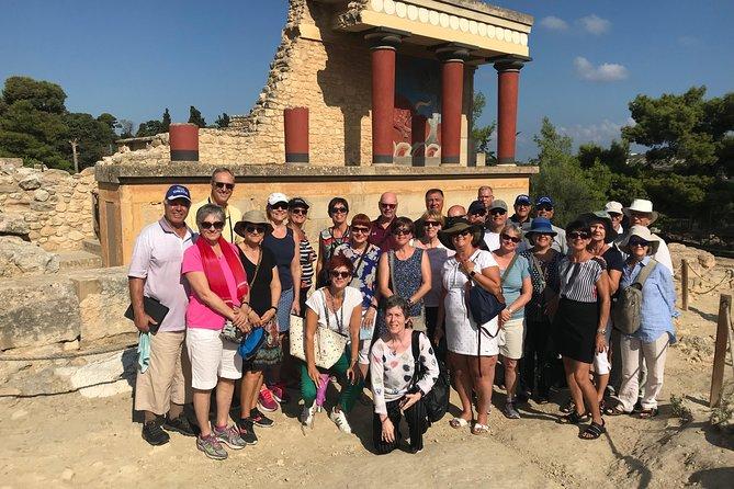Knossos Palace (gedeelde rondleiding)