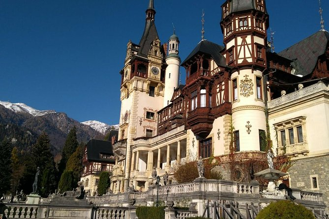 Private Tour: Peles Castle, Sinaia Monastery, Bran Castle and Rasnov Fortress