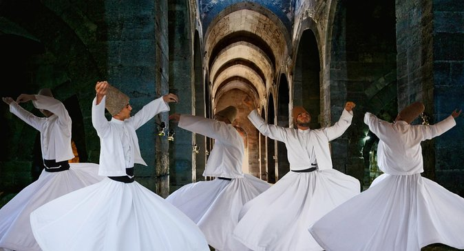 Whirling dervishes Cappadocia