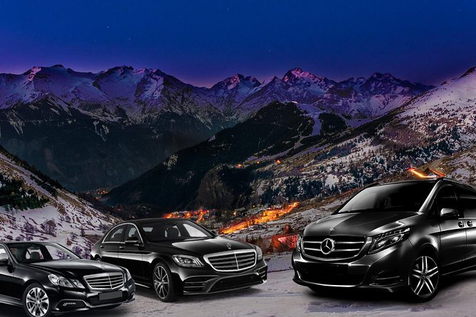 Your VIP transfer from Chambery Airport to Alpe d'Huez (Mercedes S ou V-class)