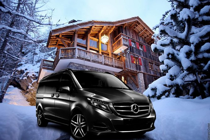Airport Chambery - private VIP transfer to Val-d Isere on Mercedes V-class