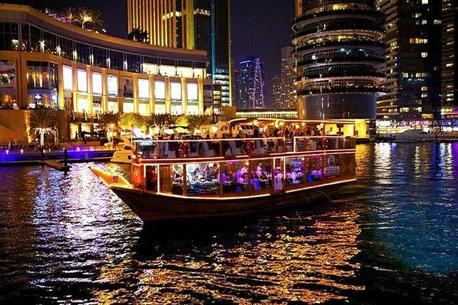 Romantic Sightseeing Dhow Cruise Dinner