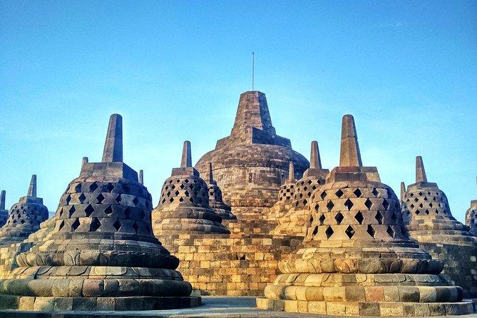 Sunrise Borobudur temple, Village Tour and Prambanan Temple